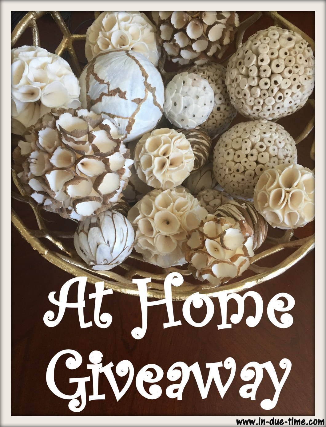 At Home Giveaway