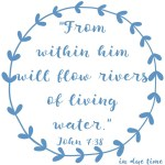 John 7:38 Rivers of Water #160