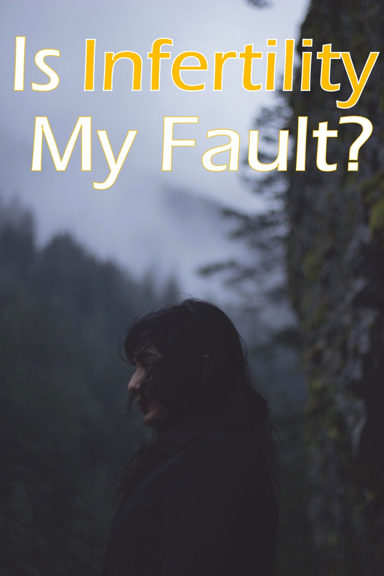 Is Infertility my fault - in due time blog