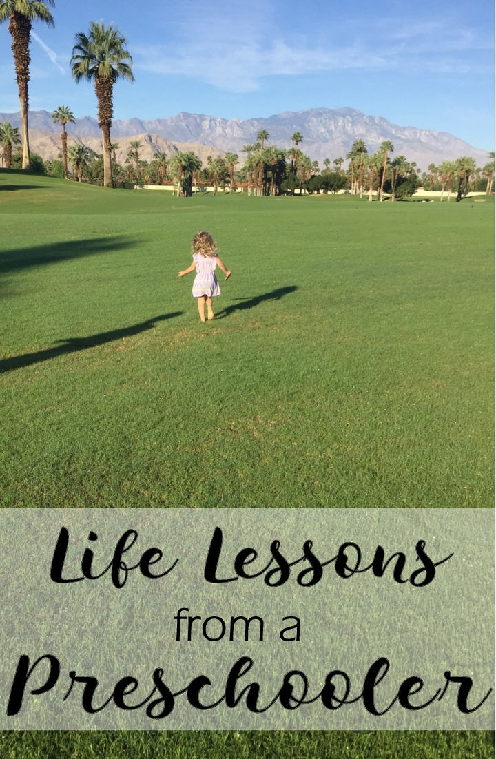Life Lessons From a Preschooler - In Due Time Blog