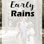 Guest Post: The Early Rains