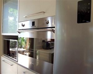 Eye level ovens in kitchen remodel