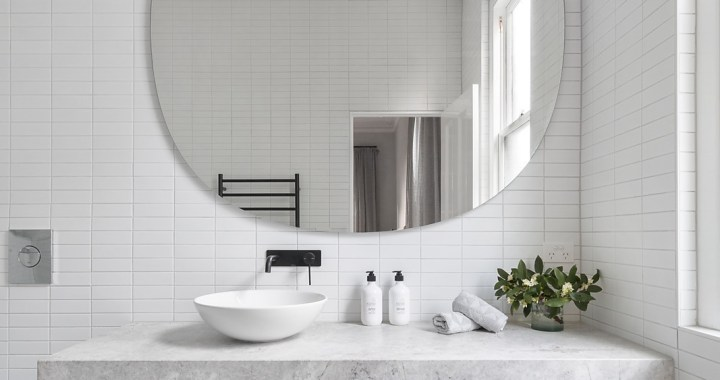 add more space to your bathroom with these pro tips