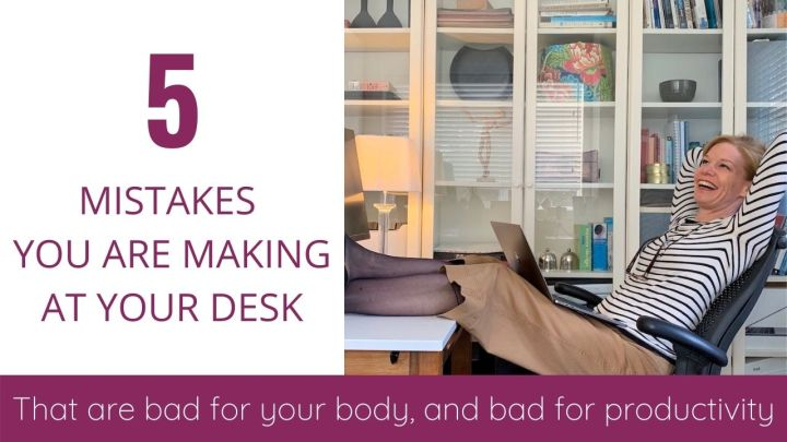 5 MISTAKES YOU ARE MAKING THAT ARE BAD FOR YOUR BODY AND BAD FOR PRODUCTIVITY