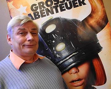 Frontmann der Bergisch Gladbacher Filmkultur: Helmut Hüttig (59)