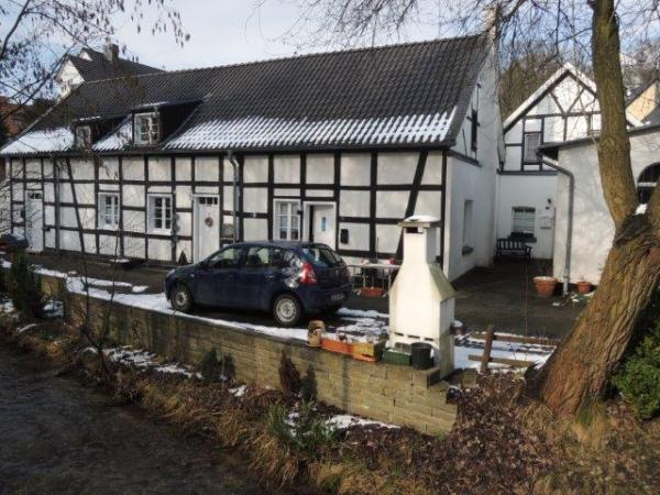 Die Reste der ehemaligen Hammermühle