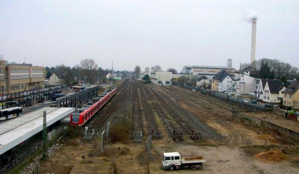 Bahngleise 600