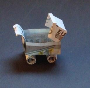 geld kinderwagen