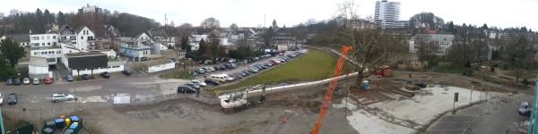 Panoramaansicht des Buchmühlen-Geländes