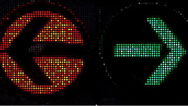 schwarz rot grün ampel 600 punkte