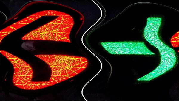 schwarz rot grün ampel 600 wellen