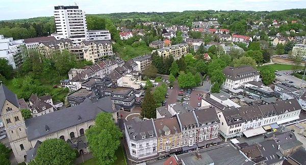 Laurentiusviertel und Buchmühle. Foto: Stefan Krill