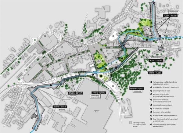 Die geplanten Maßnahmen in der östlichen Innenstadt
