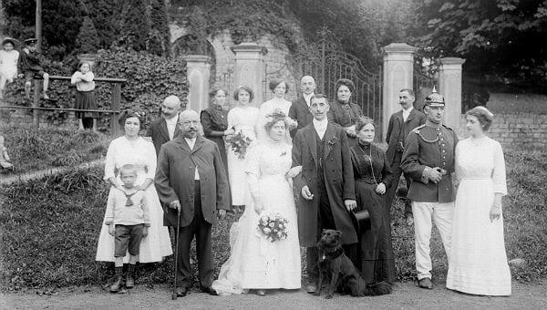 Gesucht Hochzeitsfotos von heute und damals