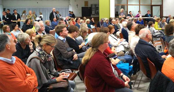 Bei einer zweiten Bürgerversammlung in Schildgen wurde die Hilfe organisiert