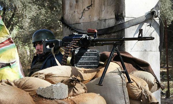 Ein Kontrollposten in Damaskus. Foto: Elizabeth Arrott/Wikimedia