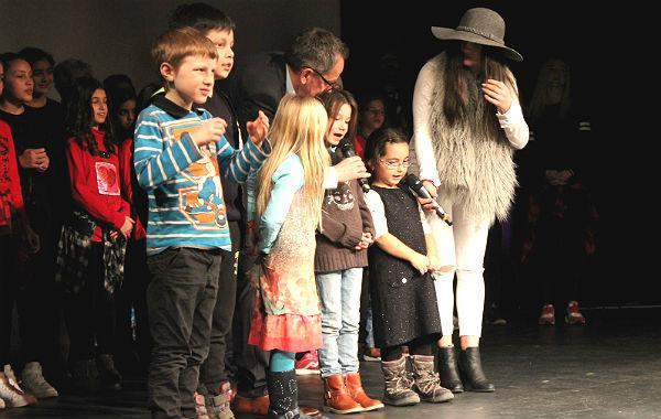 Die jüngsten Teilnehmer der Castingshow aus dem KiWo Bensberg
