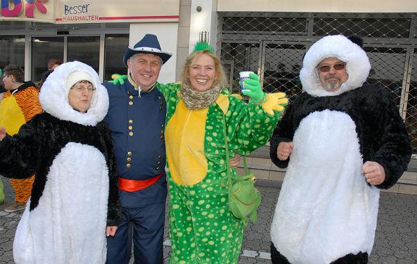 Karnevalszug Bensberg 2016 17