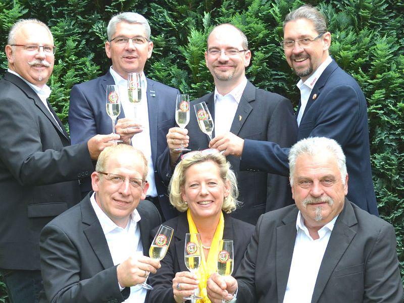 Das Dreigestirn der Stadt Bergisch Gladbach für die Session 2016/2017