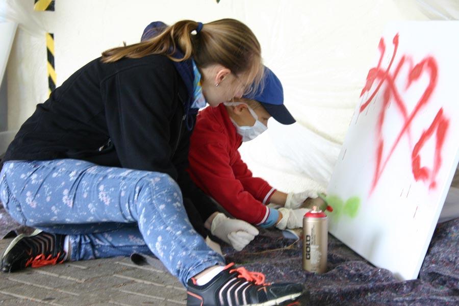 Atemberaubend Kinder Kunstwerk Rahmen Zeitgenssisch