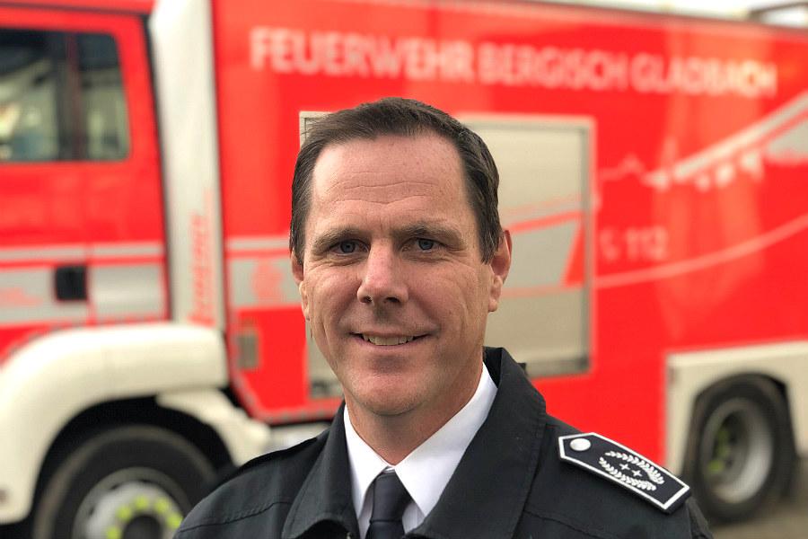 Jörg Köhler ist Leiter der Feuerwehr Bergisch Gladbach