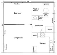 Mother In Law Suite Floor Plans | Mother In-Law Suite ...
