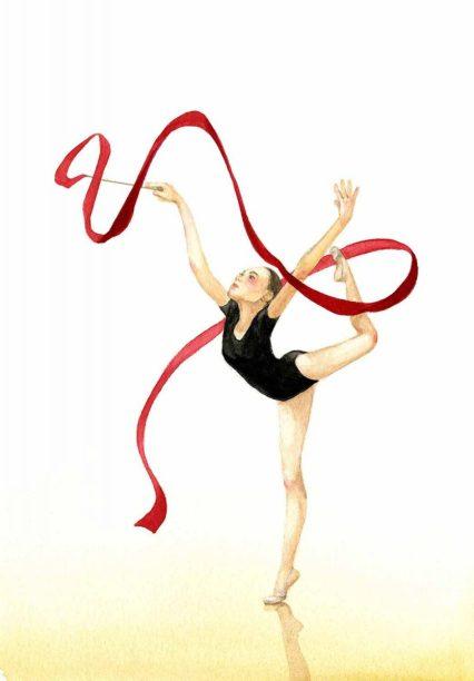A Rhythmic Gymnast