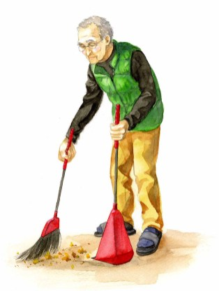 Sweeping the Ground