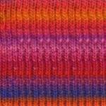 kureyon-102 orange/red multi yarn