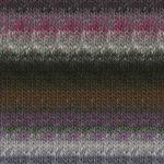 kureyon- 395 charcoal multi yarn