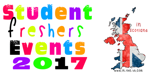 Freshers Tickets for events in Scotland