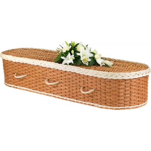 bamboo coffin with different style
