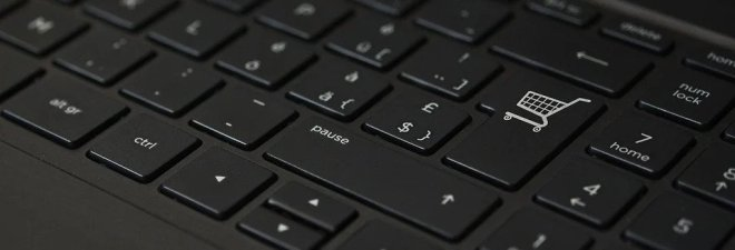 keyboard with cart button