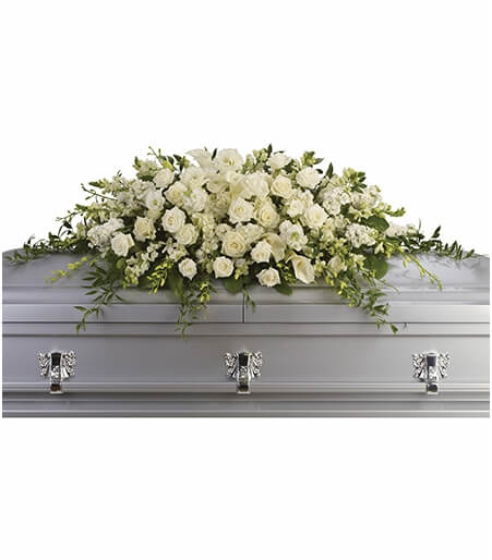 Florist One Full Couch Casket Spray