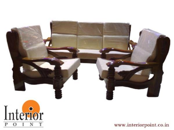 Wooden Sofa Set W S 9201 In Mumbai Designer