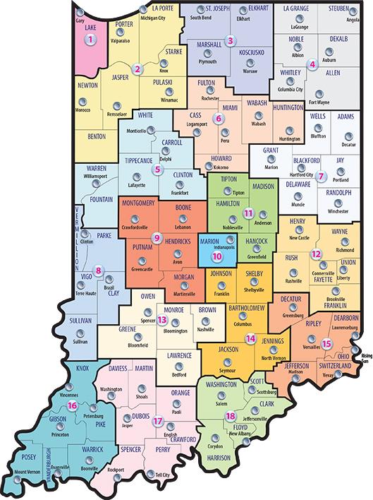Allen County Zip Code Map : allen, county, Local, Offices