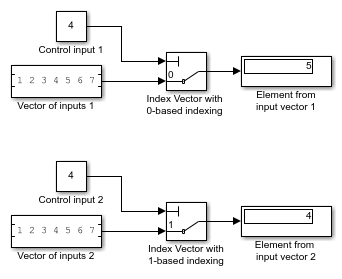 Switch output between different inputs based on value of