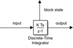 Perform discrete-time integration or accumulation of