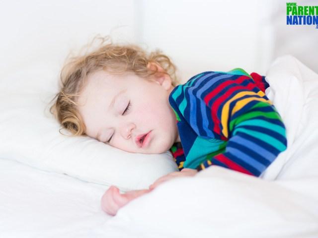 Healthy sleeping habits for children
