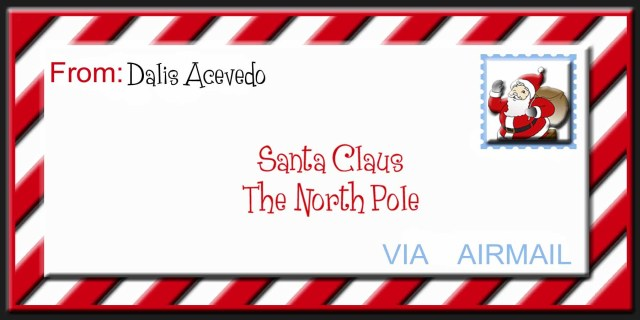 A Letter to Santa Claus - Blog In22English