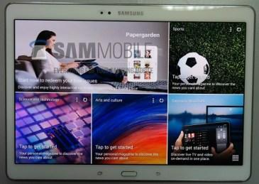 Galaxy Tab S 10.5: Οι πρώτες φωτογραφίες