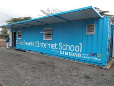 Samsung SPIS: Ηλιακό σχολείο στην Κένυα