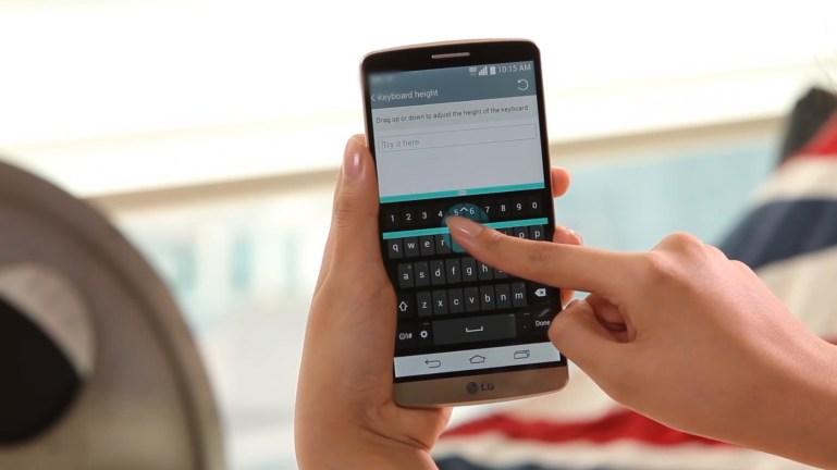 LG Smart Keyboard: Με δυνατότητα ρύθμισης ύψους και layout