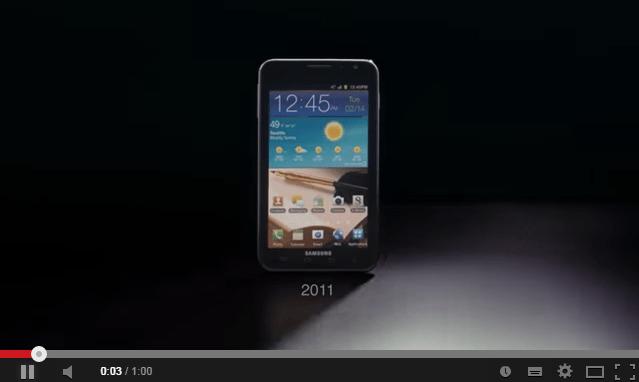 Samung: Συγκρίνει το Galaxy Note 4 με το iPhone 6 plus σε νέο βίντεο.