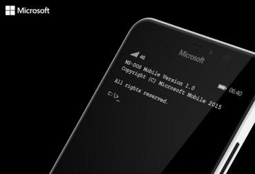 Microsoft: MS-DOS σε Windows Phone συσκευές