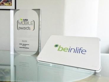 Σημαντική διάκριση για τη GLOBO και την International Life  στα Mobile Excellence Awards 2015, για τη νέα mobile εφαρμογή 'be inlife'