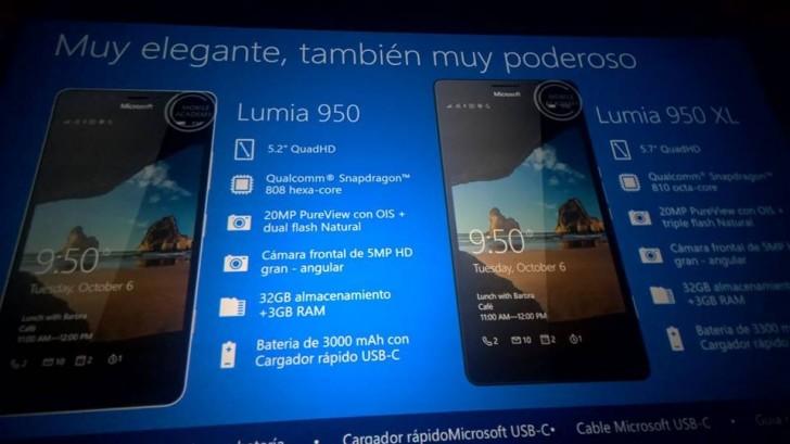 Microsoft: Περισσότερες πληροφορίες για τα νέα Lumia 950 και Lumia 950 XL
