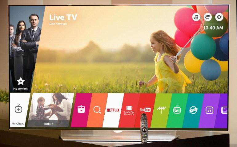 LG: Θα παρουσιάσει τη νέα έκδοση της πλατφόρμας Smart TV WebOS στη CES 2016