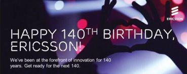 Η Ericsson Γιορτάζει 140 Χρόνια Ζωής