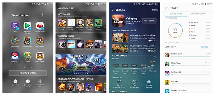 Ακόμα πιο άνετο mobile gaming με την αναβάθμιση της εφαρμογής  Game Launcher 2.0